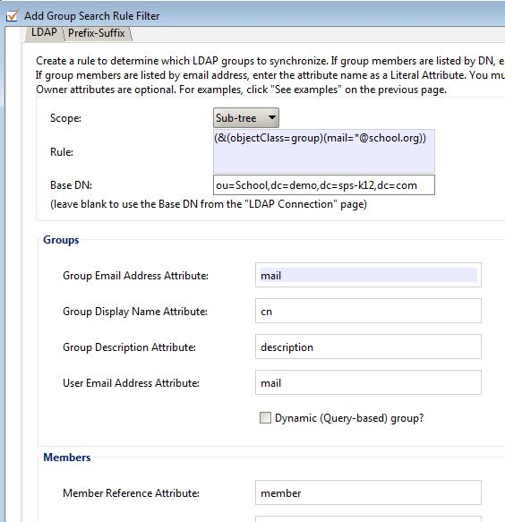 Sync Active Directory Groups with Google