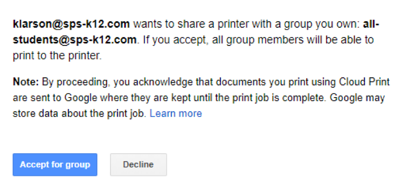 Printing with Google Cloud